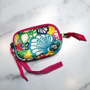 Lilly Pulitzer seaside neoprene wallet wristlet